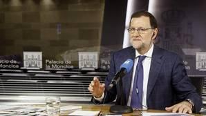Rajoy se relaja en COPE: de la colleja a su hijo a las bromas sobre el Gobierno