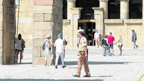 Nuevos actos vandálicos en el Templo de Debod obligan a duplicar la seguridad las 24 horas