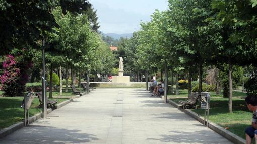 Imagen del parque donde Diana se citó con sus amigas a las 22.30 horas