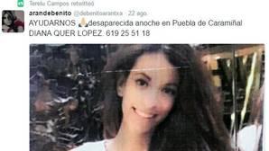 Los famosos se vuelcan en la búsqueda de la joven desaparecida en Galicia
