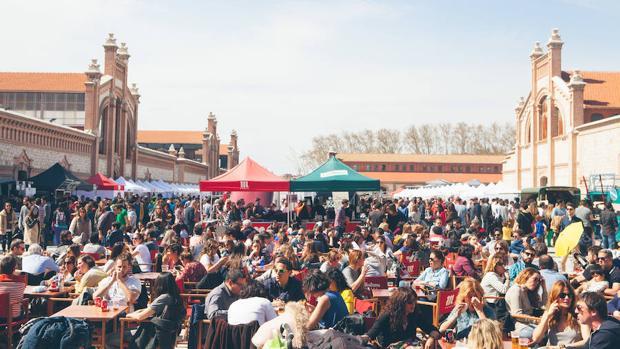 El Mercado de Diseño, en la explanada de Matadero Madrid