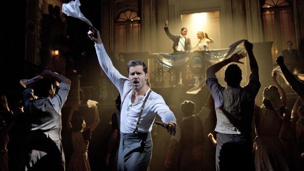 Ricky Martin interpretó en Broadway al Che Guevara en el musical «Evita», que ahora llega a Madrid