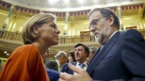 Cospedal: «No se pide al PSOE apoyo al PP, se le pide que deje gobernar a quien ha ganado las elecciones»