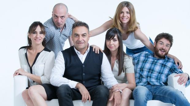 Los seis actores protagonistas