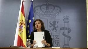 Sáenz de Santamaría advierte del «coste» de no tener Gobierno en España