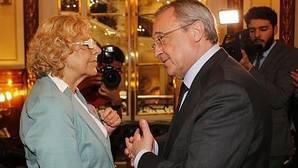 Carmena reclama 20 millones de euros al Real Madrid antes de dos meses