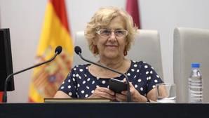 Carmena: «La limpieza en Madrid está un poco mejor que el año pasado, pero no es suficiente»