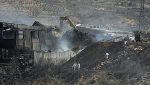 La Junta da por extinguido el incendio en la planta de Chiloeches