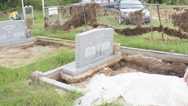 El Cementerio Leal de Texas acoge los restos de emigrantes canarios