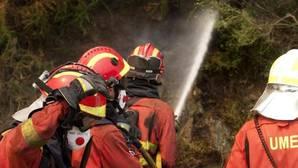 Controlado el incendio de Chantada tras arrasar unas 100 hectáreas