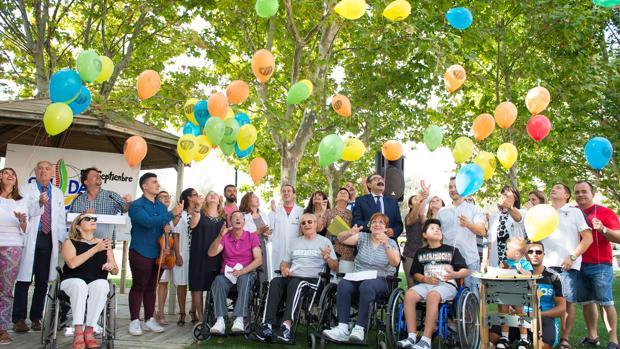 En el acto han participado profesionales, pacientes y familiares del centro