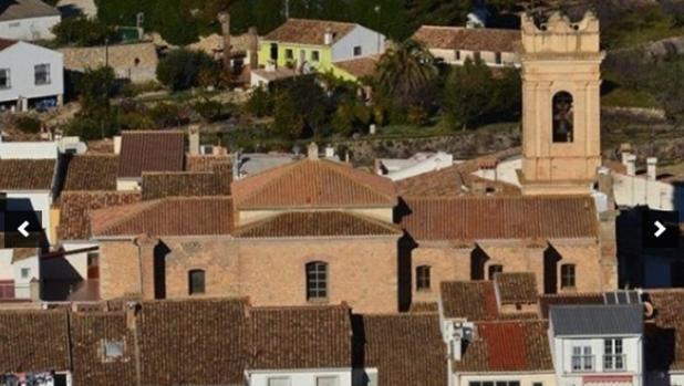 El municipio de Tàrbena.