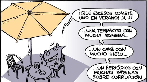 Una viñeta del dibujante Nieto sobre el aument o de la corrupción