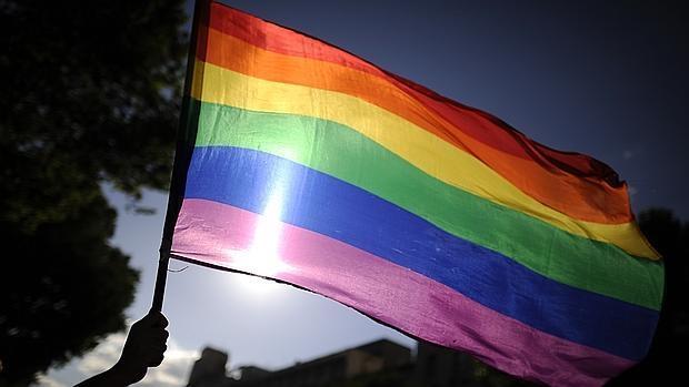 Bandera del colecctivo LGTB
