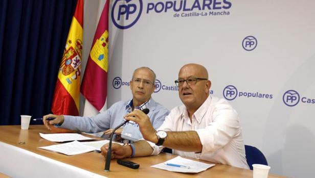 Emilio Bravo y Francisco Fernández, diputados provinciales del PP