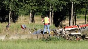 Dos muertos tras estrellarse una avioneta en una finca cerca de Villanueva del Condado (León)