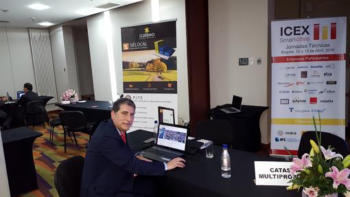 Un directivo de Galileo en Colombia