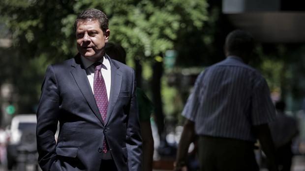 Emiliano García-Page, en Ferraz