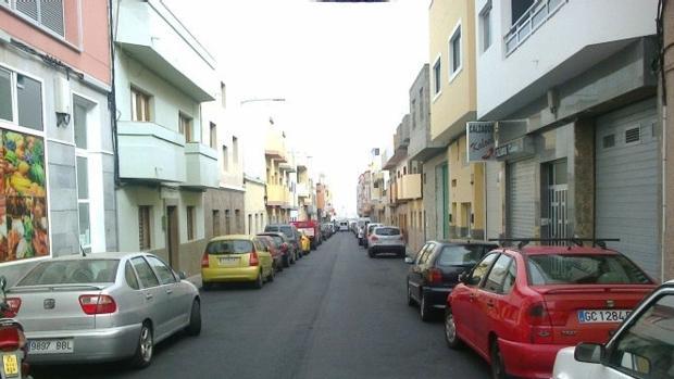 Lomo Los Frailes, en la capital grancanaria