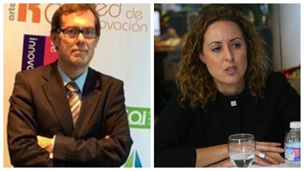 Julio Ransés Pérez Boga y Carlota Merchán