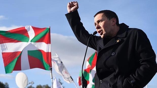 Otegi terminó de cumplir este año la pena de seis años de cárcel a la que fue condenado por pertenencia a ETA