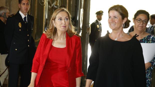 Ana Pastor este martes a su llegada a la ceremonia de apertura del Año Judicial