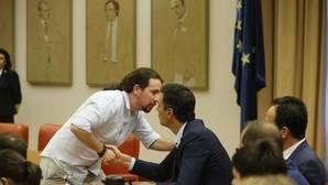 Sánchez llama también a Iglesias, y ambos apuestan por un gobierno de regeneración