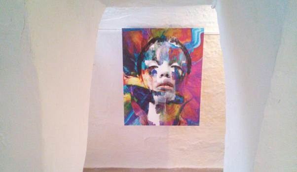 Retrato abstracto del ruso Vyguzov