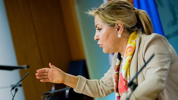 La vicepresidenta de la Junta de Castilla y León, Rosa Valdeón
