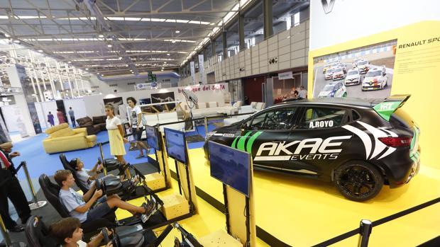 Los simuladores de conducción y el puesto de las Fuerzas Armadas son las actividades más visitadas