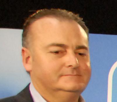 El alcalde del Puebla de Lillo, Pedro Vicente Sánchez