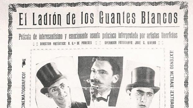 Cartel de la película que regresa 90 años después de su estreno por el Festival Fimucité de Filmoteca Canaria