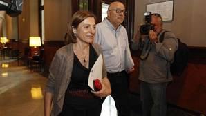 Forcadell llama a plantarse ante los intentos del Estado de que el Parlament se «autocensure»