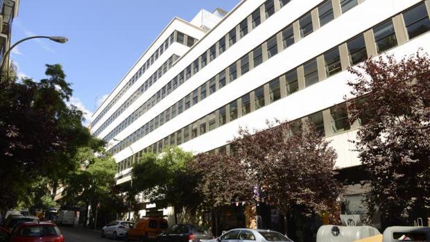 Centro de Salud en Ventura Rodríguez, Madrid