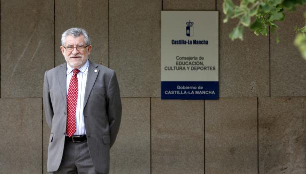 Ángel Felpeto, en la sede de su consejería