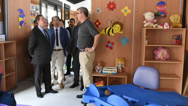 Page, en la nueva escuela infantil «La Comedia» de Almagro