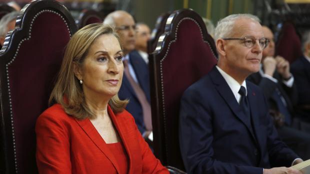 La presidenta del Congreso, Ana Pastor, el martes en la apertura del año judicial