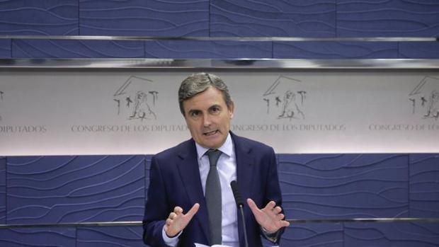 Pedro Saura, portavoz de Economía del PSOE