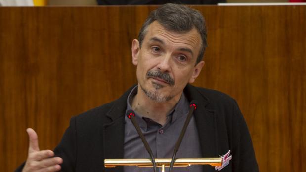 José Manuel López, portavoz de Podemos en la Asamblea de Madrid