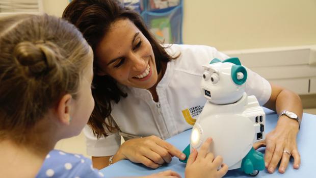 Un robot «emocional» para niños autistas