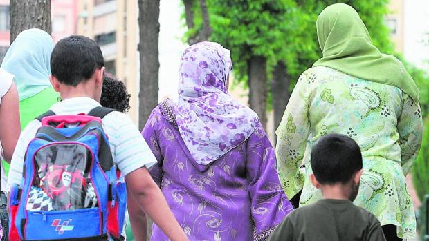 Mujeres con el velo tradicional musulmán, en una imagen de archivo