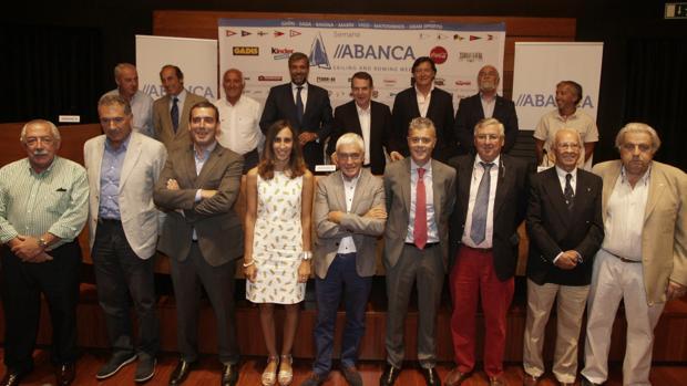Presentación de la cita deportiva celebrada ayer en Vigo