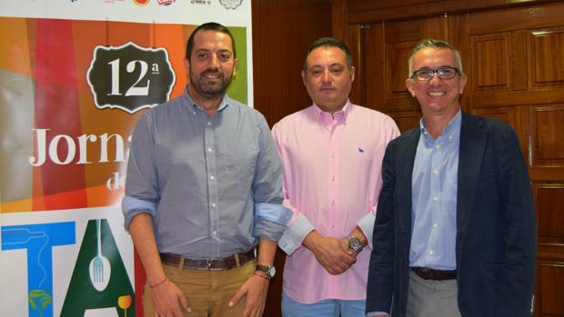Anastasio Arevalillo, Alfonso Beltrán y Luis González
