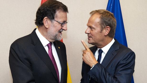 Mariano Rajoy y Donald Tusk