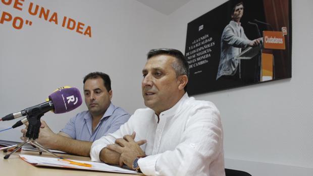 Antonio López, este jueves durante la rueda de prensa