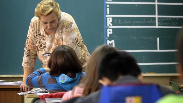 Clase de Religión en un colegio público