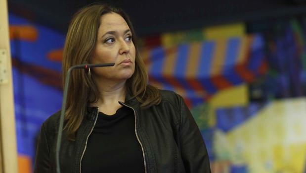 Mayte Pérez (PSOE), consejera de Educación y Cultura del Gobierno aragonés