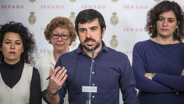 Ramón Espinar, portavoz de Podemos en el Senado y diputado de la Asamblea de Madrid