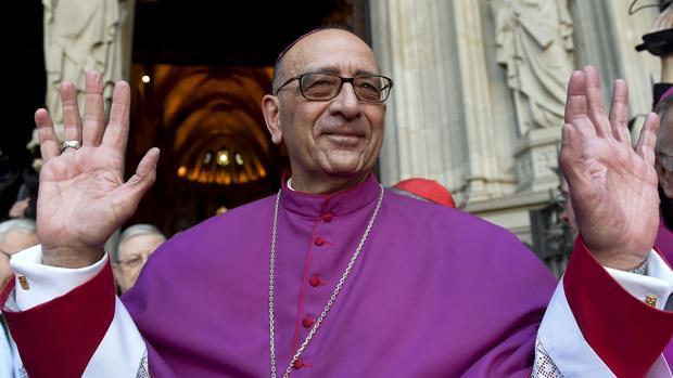Juan José Omella tomó las riemdas del arzobispado de Barcelona el 26 de diciembre de 2015
