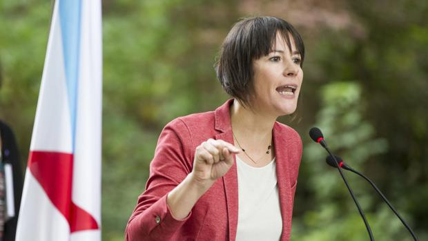 La líder nacionalista, en un acto de campaña